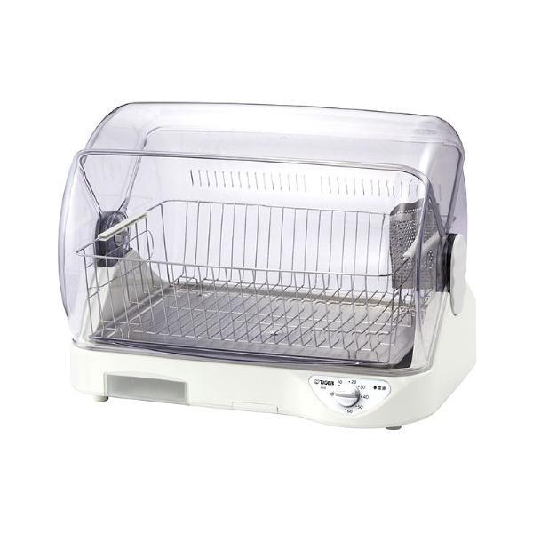 タイガー 食器乾燥機 サラピッカ 温風式 DHG-S400-W ホワイト