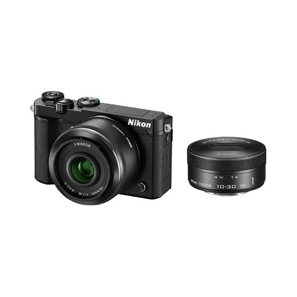 ニコン Nikon1 J5 ダブルレンズキット ブラック 《納期約2−3週間》