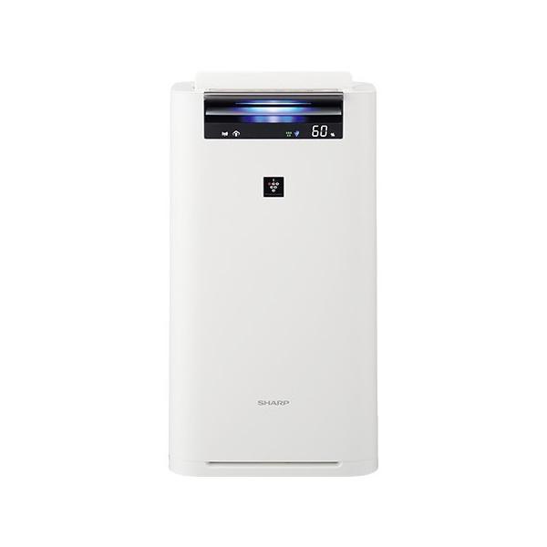 シャープ プラズマクラスター 加湿空気清浄機 KI-JS50-W ホワイト系