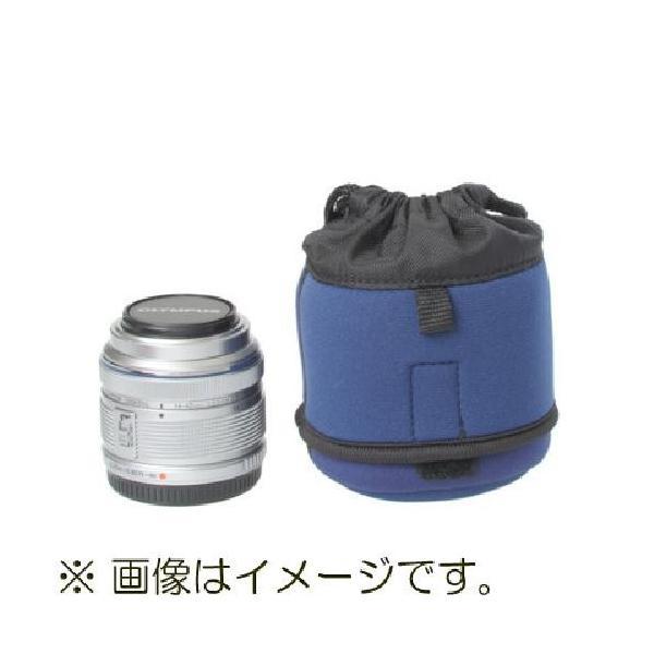 【ネコポス】 エツミ E-6531 ズームレンズポーチS ネイビー