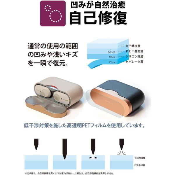 SONY WF-1000XM3 ケース/ボタン 保護 フィルム 指紋防止 気泡防止 日本製 ワイヤレスノイズキャンセリングステレオヘッドセット SONYWF 定型外|emi-direct|02