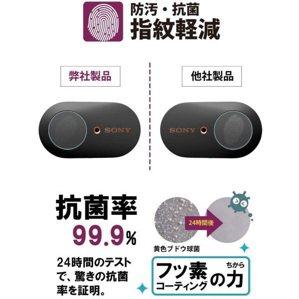 SONY WF-1000XM3 ケース/ボタン 保護 フィルム 指紋防止 気泡防止 日本製 ワイヤレスノイズキャンセリングステレオヘッドセット SONYWF 定型外|emi-direct|05
