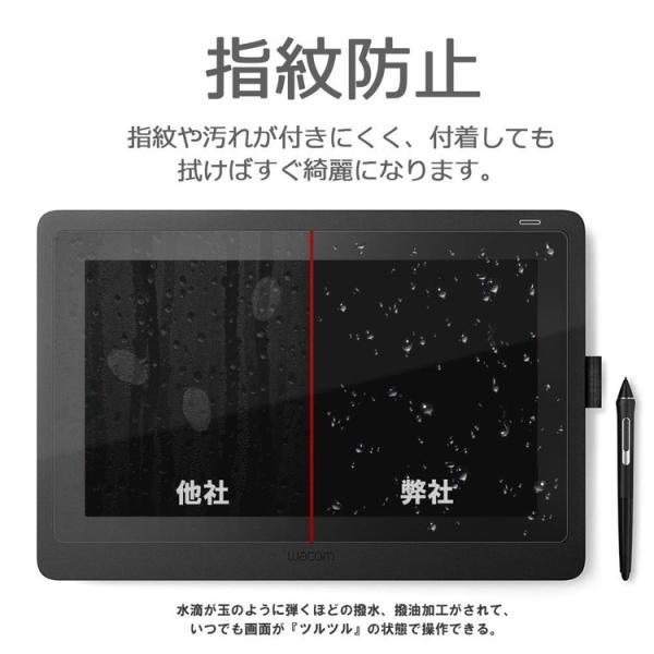 Wacom Cintiq 16 (DTK1660K1D / DTK1660K0D) フィルム ワコム Cintiq16 ペンタブレット 保護フィルム アンチグレア 非光沢 定型外|emi-direct|04