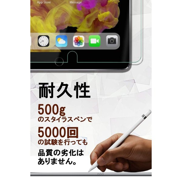 iPad mini5 mini4 フィルム ガラスフィルム 液晶 保護フィルム 2019 最新 アンチグレア ペーパーライク 液晶保護フィルム ipadmini4 保護ガラス 定形外|emi-direct|05