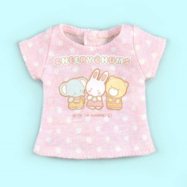 Dear Darling fashion for dolls サンリオキャラクターコラボTシャツ「チアリーチャム」1/6 ネオブライス アウトフィット アゾン カットソー