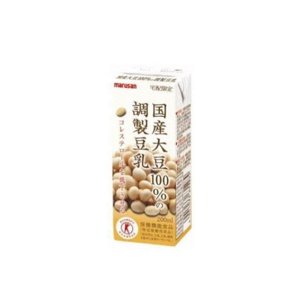 国産大豆100%の調整豆乳(24本入){M-0565}