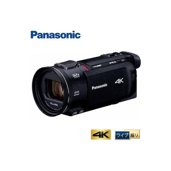 パナソニック デジタルビデオカメラ 4K ワイプ撮り 64GB HC-WXF1M-K ブラック【80サイズ】