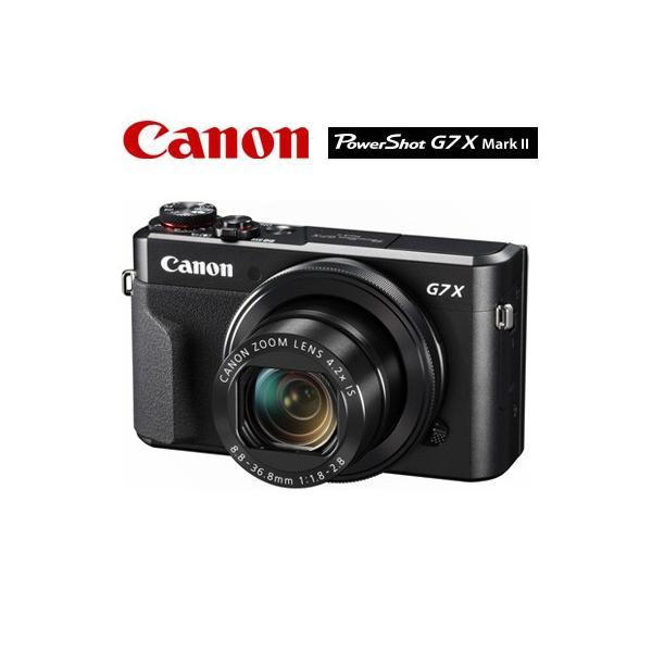 キヤノン CANON コンパクトデジタルカメラ PowerShot G7 X Mark II パワーショット PSG7X-MARKII【80サイズ】
