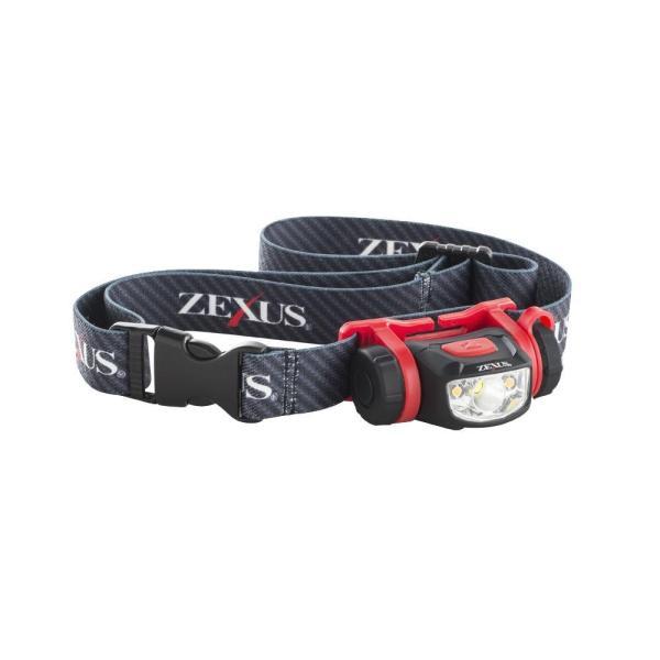 YAZAWA(ヤザワコーポレーション) LEDヘッドライト 100lm 多機能スタンダードモデル ZX-S250同梱不可