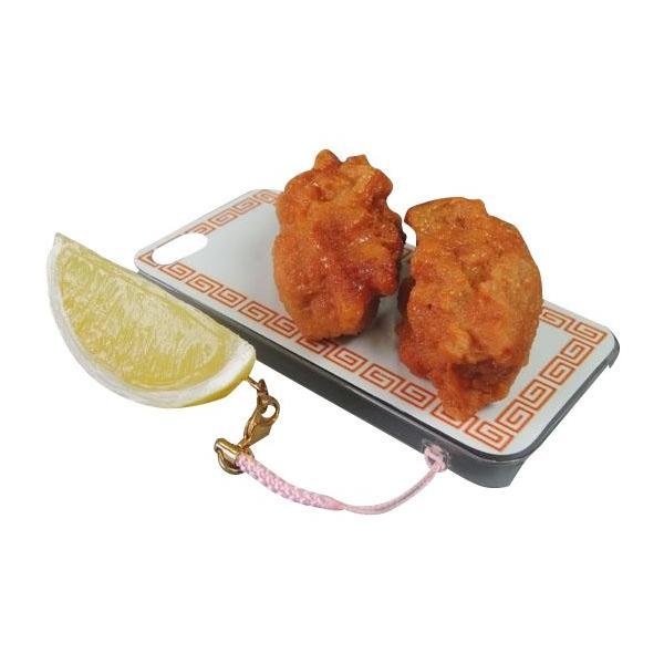 日本職人が作る  食品サンプルiPhone5ケース からあげ  ストラップ付き  IP-226|emonolife