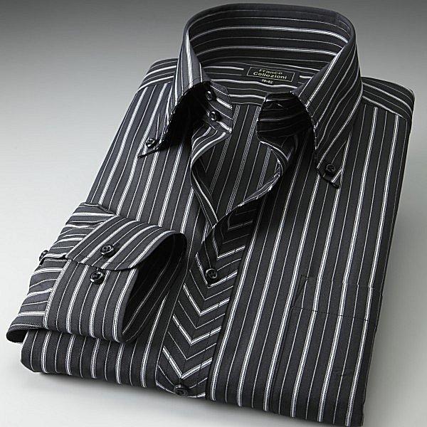 ワイシャツ 長袖 ドレスシャツ ドゥエボットーニ トレボットーニ 3枚組|emperormart|04