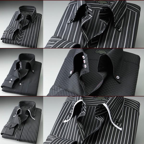 ワイシャツ 長袖 ドレスシャツ ドゥエボットーニ トレボットーニ 3枚組|emperormart|05