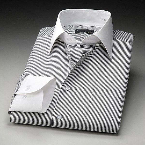 ワイシャツ 長袖 ドレスシャツ スリムフィット 5枚組|emperormart|04