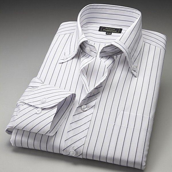 ワイシャツ ホワイト ドレスシャツ 3枚組 emperormart 02