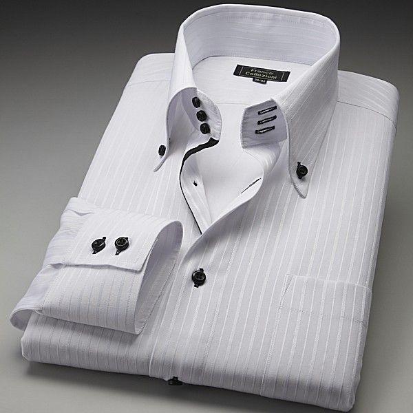 ワイシャツ ホワイト ドレスシャツ 3枚組 emperormart 03