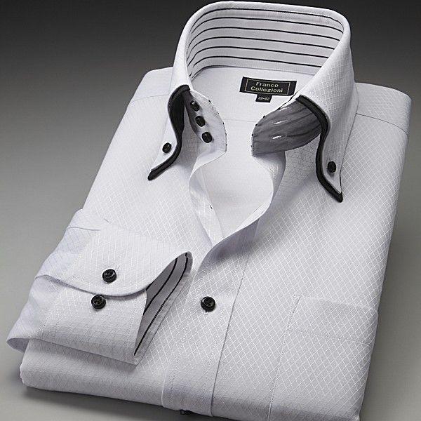 ワイシャツ ホワイト ドレスシャツ 3枚組 emperormart 04