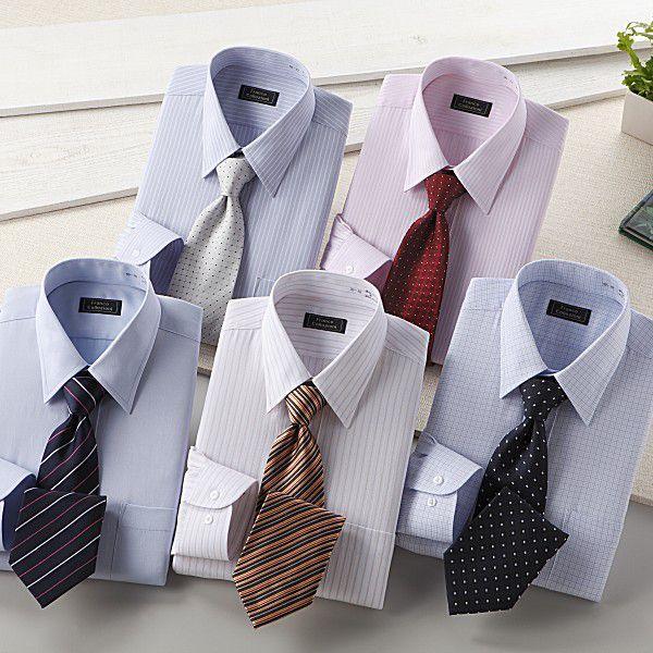 ワイシャツ 長袖 メンズ 10点セット カラー系|emperormart|05