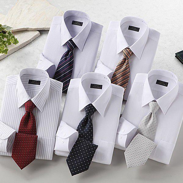 ワイシャツ 長袖 メンズ 10点セット ホワイト系|emperormart|05