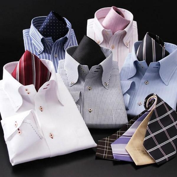 ワイシャツ 長袖 メンズ 14点セット カラー系|emperormart|05