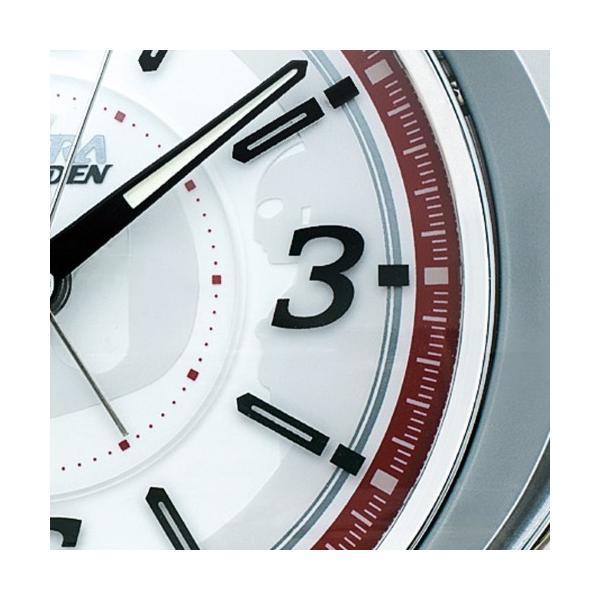 セイコー ウルトラ RAIDEN(ライデン)大音量目覚まし時計 クオーツ ウルトラマン (銀色メタリック塗装) CQ141S|empire-clock|03