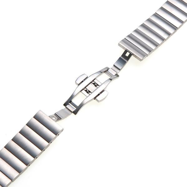 時計 ベルト 20mm 22mm ステンレス バタフライバックル イージークリック EMPIRE AARO アーロ ベルト調整工具付き|empire|03