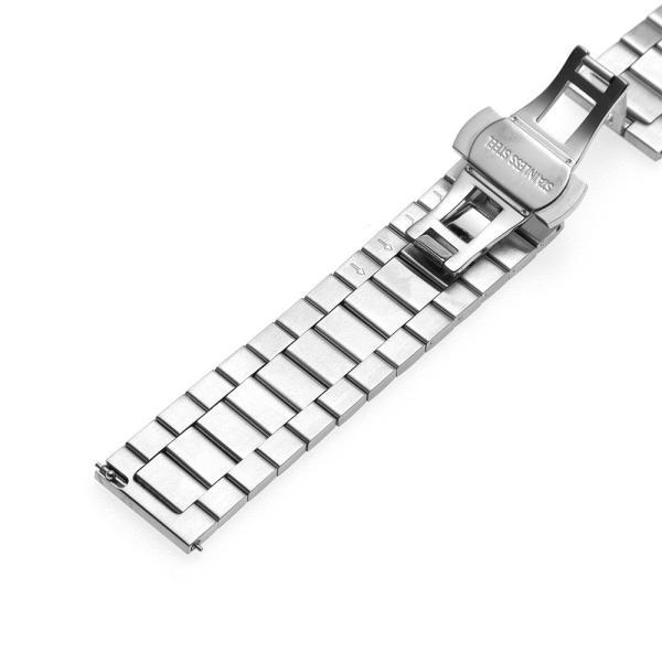 時計 ベルト 20mm 22mm ステンレス バタフライバックル イージークリック EMPIRE AARO アーロ ベルト調整工具付き|empire|04