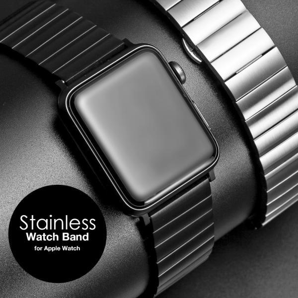アップルウォッチ バンド for Apple watch ステンレス 38mm 40mm 42mm 44mm ブランド おしゃれ