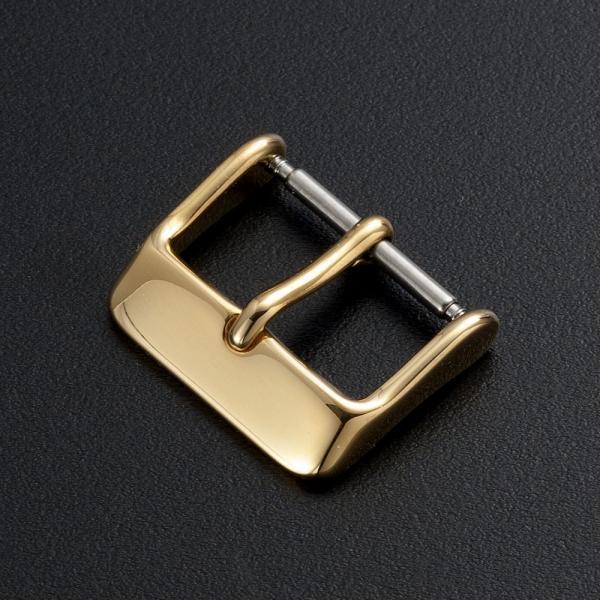時計 ベルト 腕時計 バンド 尾錠 バックル ステンレス ゴールド ローズゴールド ブラック シルバー 16mm 18mm 20mm|empire|02