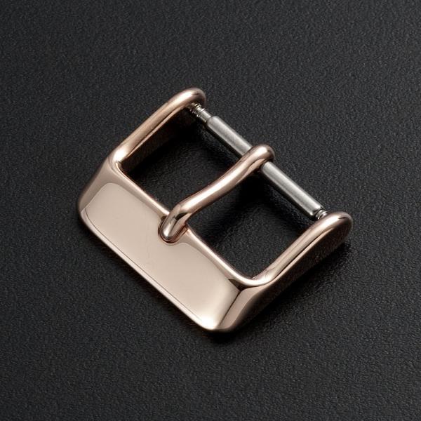時計 ベルト 腕時計 バンド 尾錠 バックル ステンレス ゴールド ローズゴールド ブラック シルバー 16mm 18mm 20mm|empire|03
