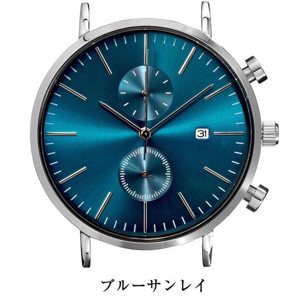 腕時計 メンズ クロノグラフ 41mmケース ベルト別売り|empire