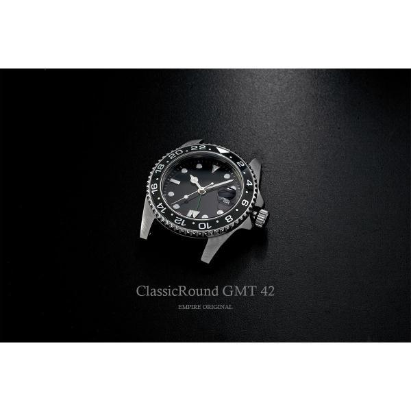 腕時計 メンズ ClassicRound GMT 42mm  (ベルト別売り)|empire|03