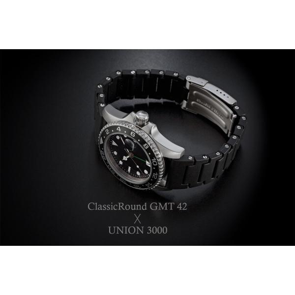 腕時計 メンズ ClassicRound GMT 42mm  (ベルト別売り)|empire|04