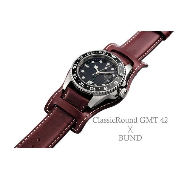 腕時計 メンズ ClassicRound GMT 42mm  (ベルト別売り)|empire|06