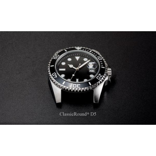 ClassicRound D5 42mm 腕時計 メンズ(ベルト別売り)|empire|02