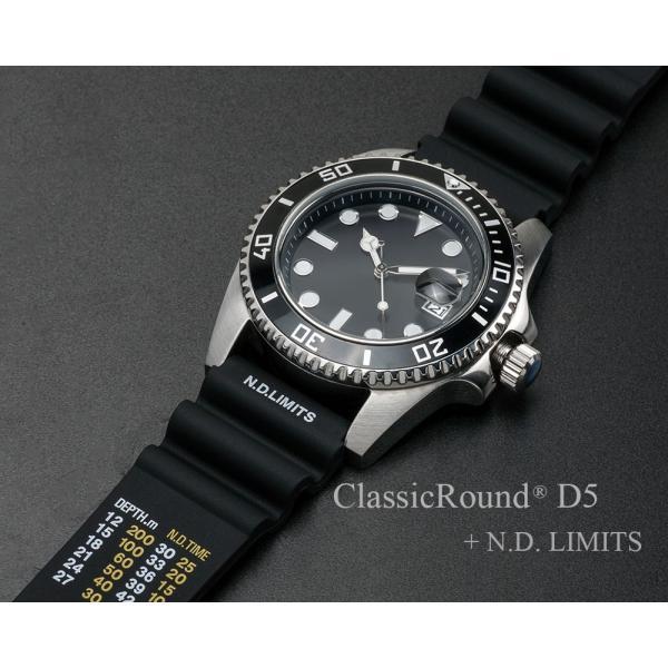 ClassicRound D5 42mm 腕時計 メンズ(ベルト別売り)|empire|03