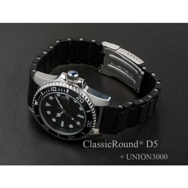 ClassicRound D5 42mm 腕時計 メンズ(ベルト別売り)|empire|05