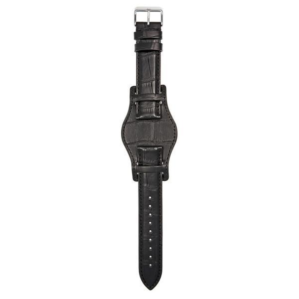 時計 ベルト ワニ EMPIRE Premium GRAND LIAM グランド リアム アリゲーター イタリアン耐汗ライニング BUND ブンド 時計 ベルト 18mm 20mm 22mm|empire|02