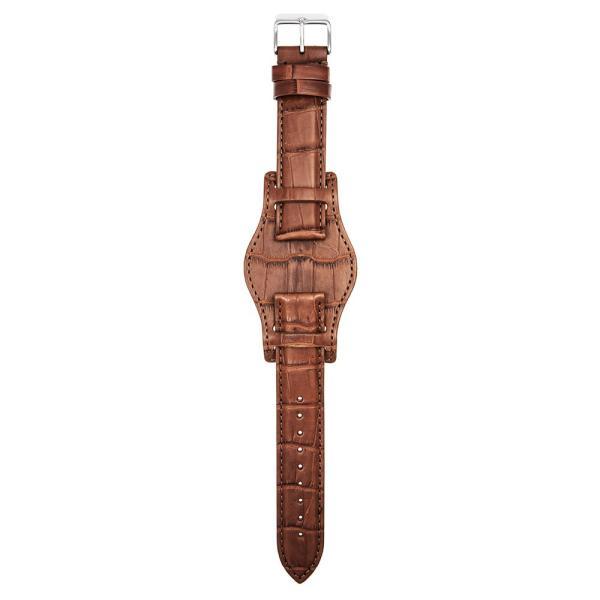 時計 ベルト ワニ EMPIRE Premium GRAND LIAM グランド リアム アリゲーター イタリアン耐汗ライニング BUND ブンド 時計 ベルト 18mm 20mm 22mm|empire|03