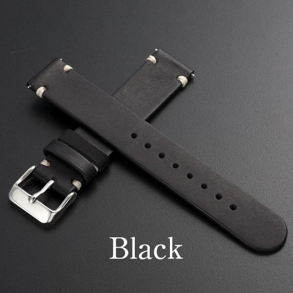 時計 腕時計 ベルト バンド  EMPIRE  革 本革 イタリアンレザー  ハンドステッチ ワンタッチで簡単装着 イージークリック|empire|02