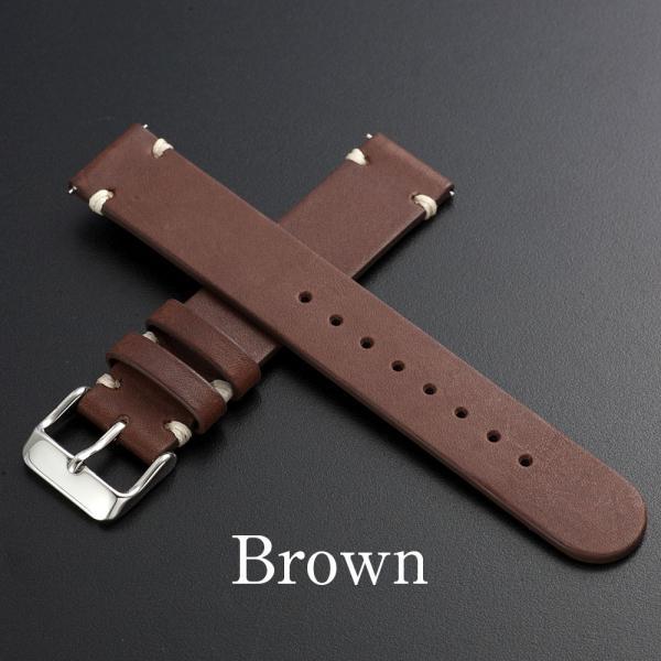 時計 腕時計 ベルト バンド  EMPIRE  革 本革 イタリアンレザー  ハンドステッチ ワンタッチで簡単装着 イージークリック|empire|03