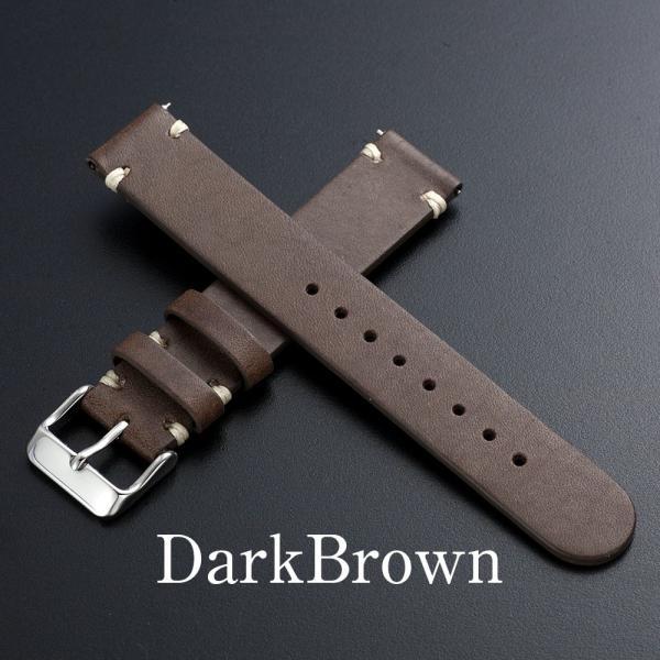 時計 腕時計 ベルト バンド  EMPIRE  革 本革 イタリアンレザー  ハンドステッチ ワンタッチで簡単装着 イージークリック|empire|04