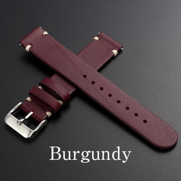 時計 腕時計 ベルト バンド  EMPIRE  革 本革 イタリアンレザー  ハンドステッチ ワンタッチで簡単装着 イージークリック|empire|05