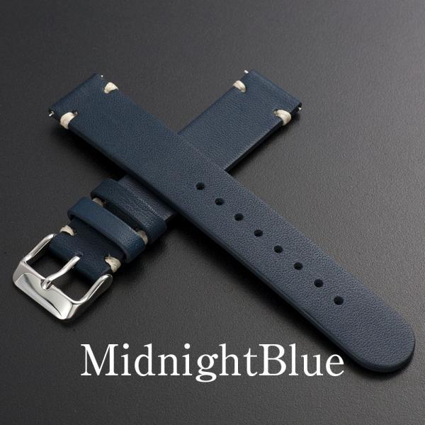 時計 腕時計 ベルト バンド  EMPIRE  革 本革 イタリアンレザー  ハンドステッチ ワンタッチで簡単装着 イージークリック|empire|06