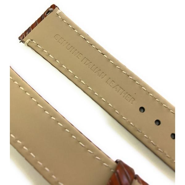 時計 腕時計 ベルト バンド  EMPIRE  革 本革 イタリアンレザー ハッチ 耐汗 18mm 20mm|empire|05