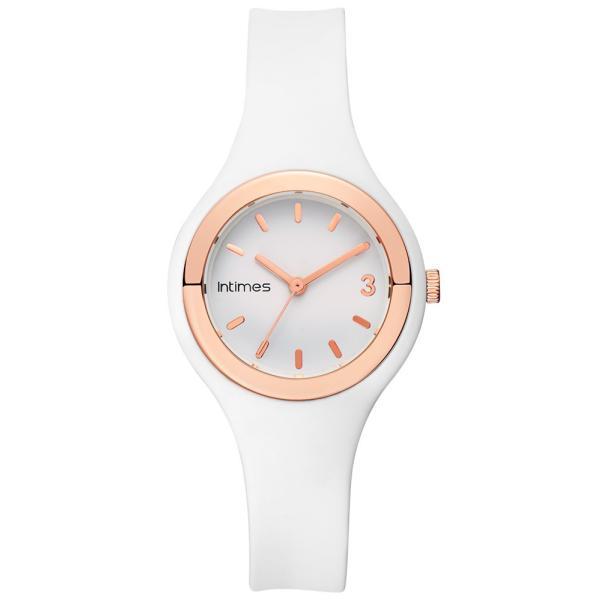 腕時計 レディース シリコン かわいい 軽量 防水  日本限定モデル ホワイト ローズゴールド