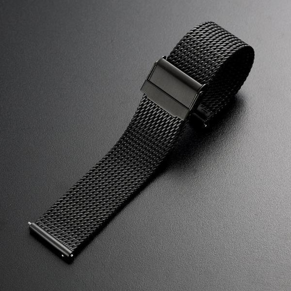 時計 腕時計 ベルト バンド 18mm 20mm 22mm EMPIRE  316L ミラネーゼ メッシュ ワンタッチで簡単装着 イージークリック ステンレス|empire|04