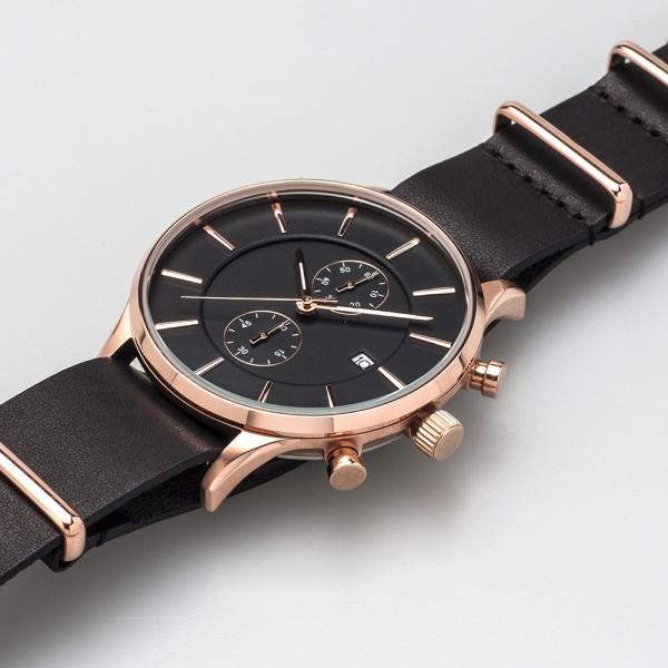 EMPIRE NATO ベルト 時計 バンド ローズゴールド イタリアンレザー 腕時計 ベルト 時計ベルト 腕時計ベルト 革 18mm 20mm ダニエルウェリントンにも|empire|06