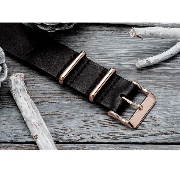 EMPIRE NATO ベルト 時計 バンド ローズゴールド イタリアンレザー 腕時計 ベルト 時計ベルト 腕時計ベルト 革 18mm 20mm ダニエルウェリントンにも|empire|08