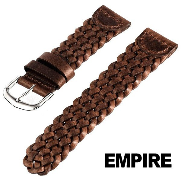 時計 腕時計 ベルト バンド  EMPIRE  革 本革 とにかく渋い アンティーク感のある メキシコレザー 替え 交換 ワンタッチで簡単装着 イージークリック empire