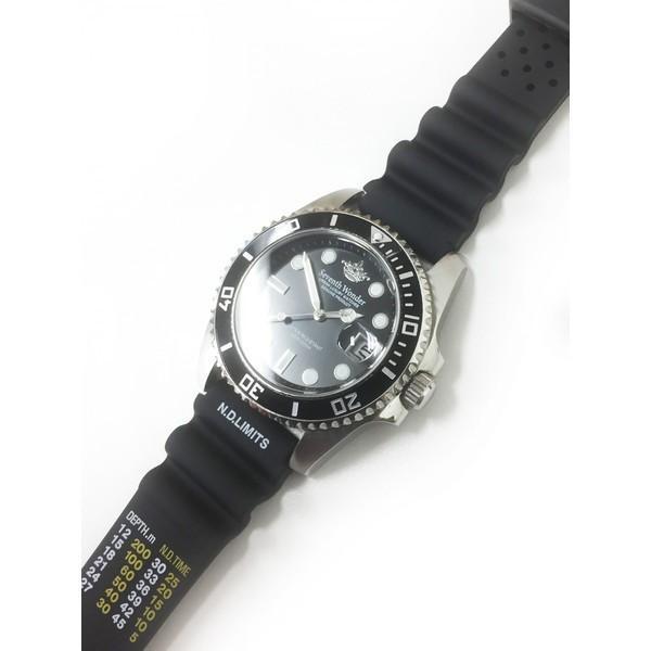 時計 腕時計 ベルト バンド  EMPIRE  N.D.LIMITS 無減圧限界値 ダイバー ウレタン 20mm 22mm|empire|06